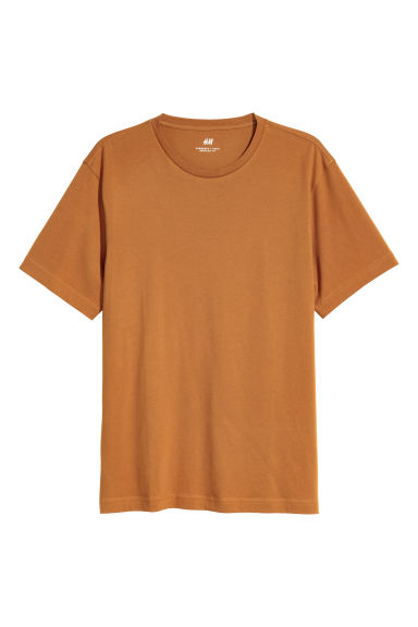 Camiseta Regular fit - Ocre - HOMBRE | H&M ES 1